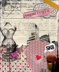 collage lady's vogue by robot-complete