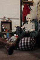 Living Room Corner by aPPlejaZZ