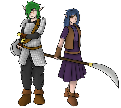 Grazhar and Lanah reference update by GrazArts