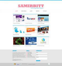 my portfolio New Theme by samirbitt16