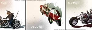 commish: Biker Mice from Mars by JavierReyes