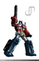Optimus Prime by JavierReyes