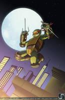Comish: TMNT Raphael by JavierReyes