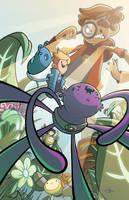 Bravest Warriors #13 Variant Cover by JavierReyes