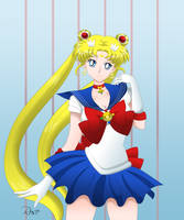 Pretty Guardian Sailor Moon by NicoleDrawsAnime