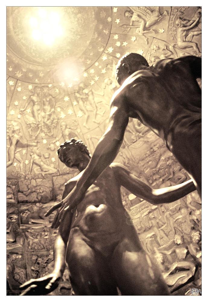 Adam and Eva by II-calm-II