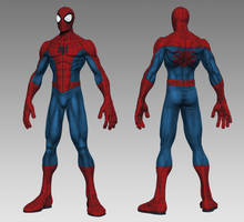 Joe Mad Style Spidey WIP by HecM