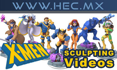 Making of X-Men Infi90s Project by HecM
