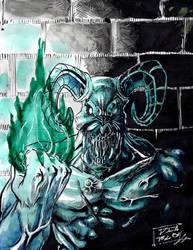 Baron of hell by ElDiabloChingon
