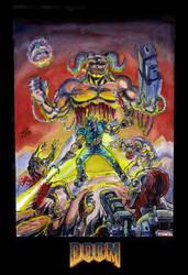 Doom cover by ElDiabloChingon
