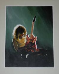 Eddie Van Halen by DeanHerrett