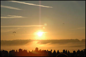 Stonehenge Sunrise by s-w