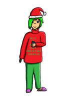 Community Christmas Collab - Aidan (Finished) by AidanTheMemelord