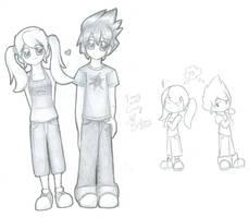 JimmyxCindy sketch by brigette