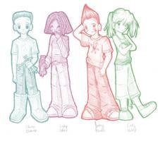 Jimmy Neutron sketch by brigette
