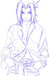 Sasuke Bishie - SKETCH by jadeedge