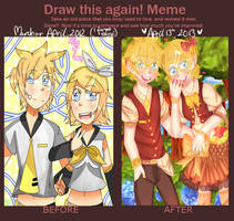 Before and After 2: Rin and Len by Kaykoko