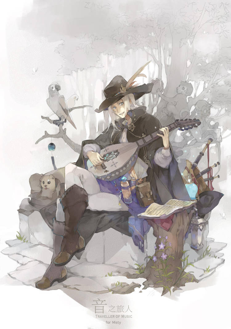 Traveller of Music by roosarea