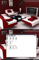 3D Living Room by Kwbmm