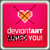 DeviantArt HATES You! by DTWX
