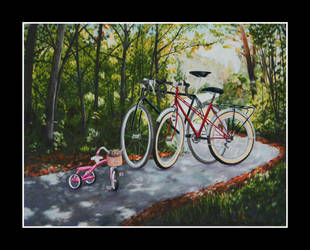 Bicycle Family by Laifierr