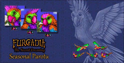 Furcadia Digo: Seasonal Parotu by RatTheUnloved