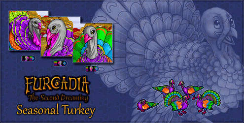 Furcadia Digo: Seasonal Turkey by RatTheUnloved