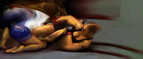 Fighters 36 Ronda Rousey V Cat Zingano by mrddixon