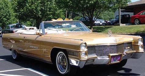 Elvis Presley Cadillac Eldorado Convertible by FataMorgana2012