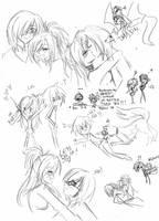sketches-NxS by 2LoveGir