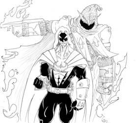 Azrael: Agent of the Bat by D37HB01