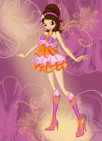 Esther in the Dress from Stella by winxEsther