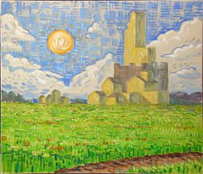 Castle in a Field by TimeIsFun