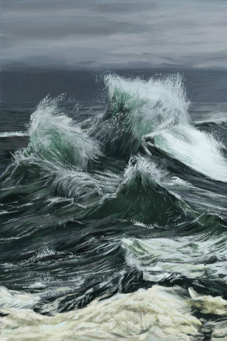 Sea waves by spartacus211