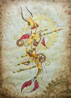 Mechanical fish by qi-art