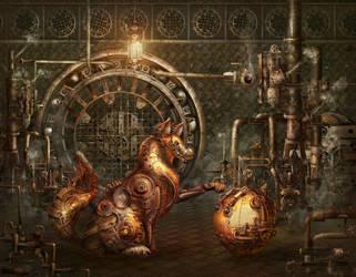 new look - Russian Fairy Tales: Kolobok by qi-art