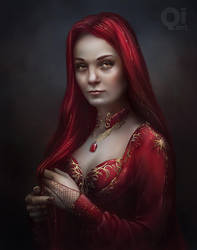Game of Thrones: Melisandre by qi-art