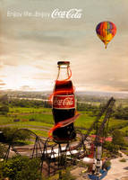 coca cola by Ahmadrefaat