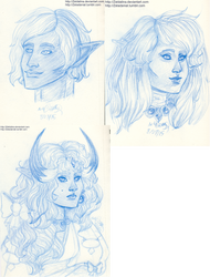 Mini Sketchdump 8233015 by Zeldalina
