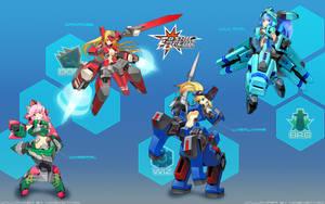 Type S Warriors by hidekeitaro