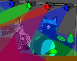 Nanojax and Neon Mitsumi by Wolf-Warrior921