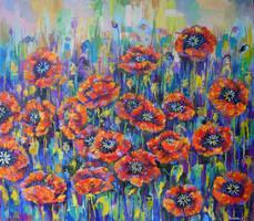 poppies by Ramonova