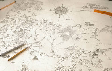 A Song of Ice and Fire - Speculative World Map by lucas-reiner on ...