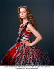 Alice's Red Dress by AliceInWonderland