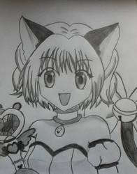 Mew Ichigo by KiwiKat10