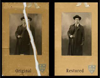 Digital Photo Restoration #1 - Timelapse (PS) by ThyagoHills