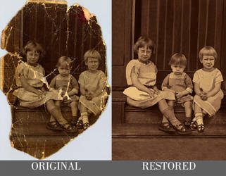 Digital Photo Restoration #2 - Timelapse (PS) by ThyagoHills