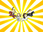 The Four Ponymen by RAMENmanga-ka