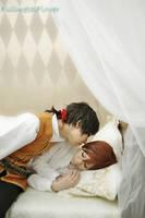 APH:SR:Good night by fullmetalflower