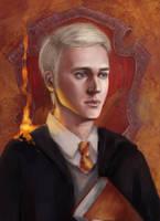 Draco Malfoy by Maria-Hideki